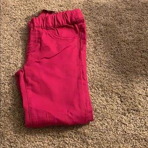 NWT crazy 8 dark mauve jeans size 5t.